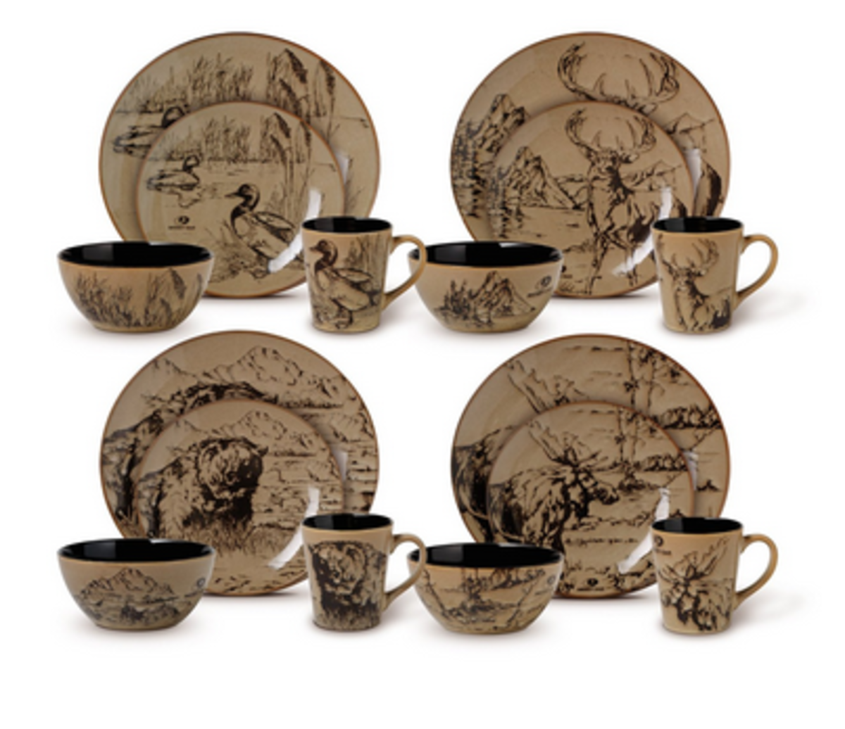 lodge-dinnerware-and-flatware-sets