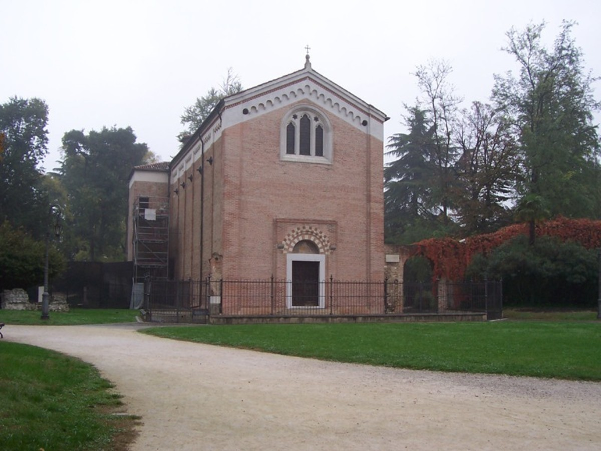 The location of Giotto's Frescos.