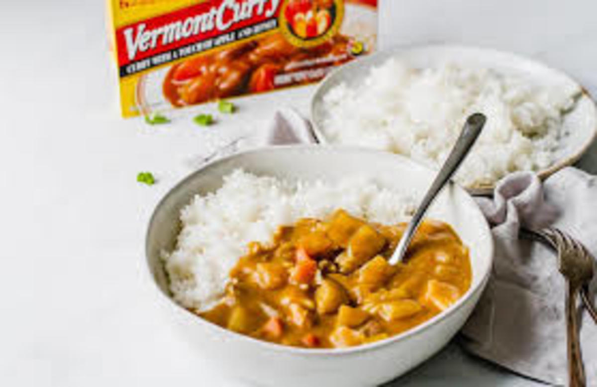 Inexpensive Curry Rice