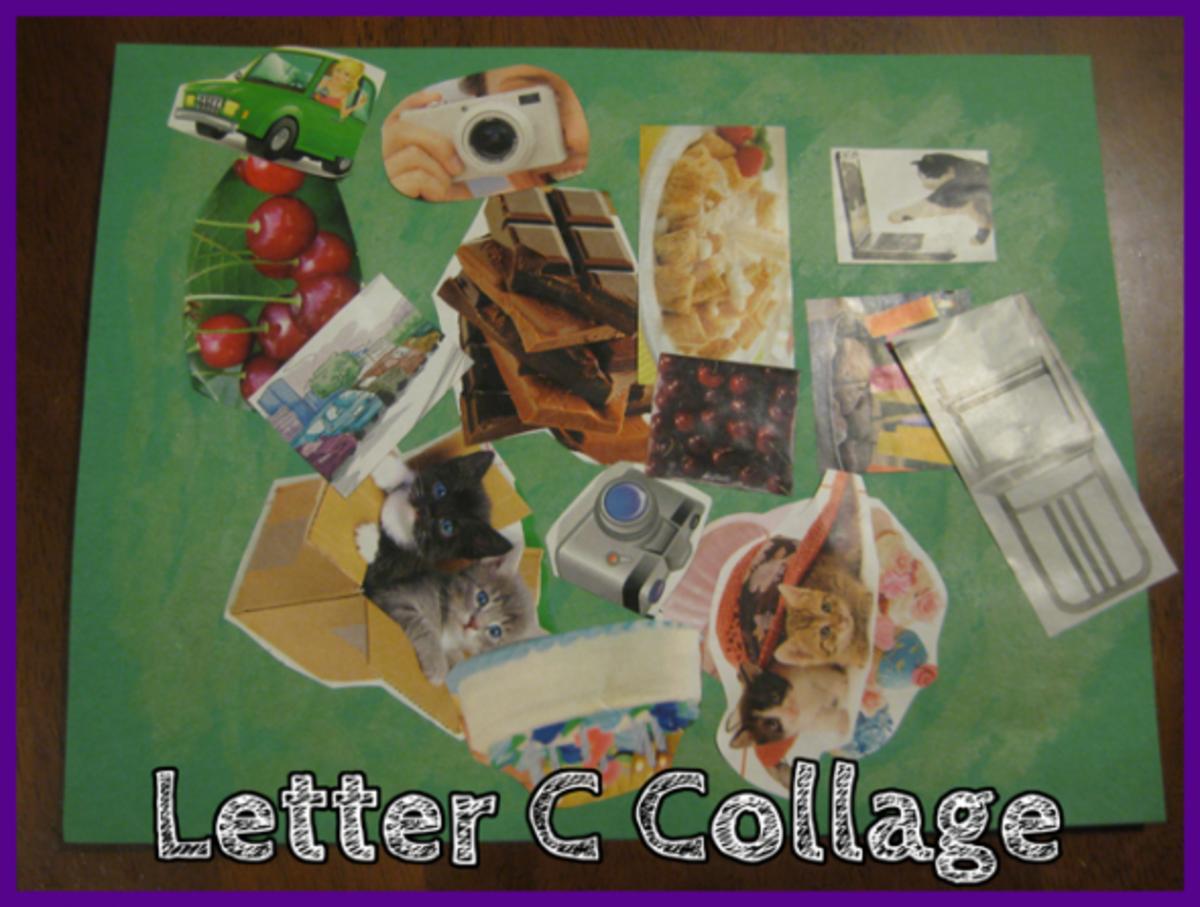 Letter C Collage