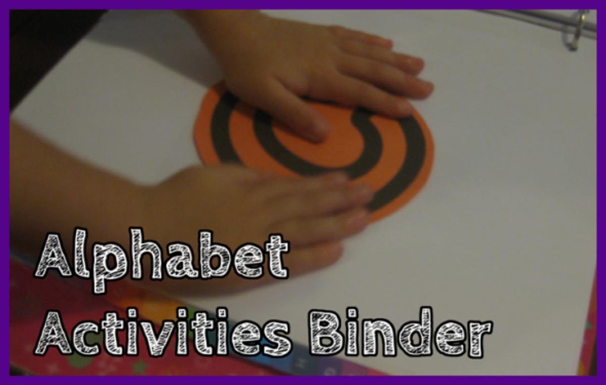 Alphabet Activities Binder Letter C