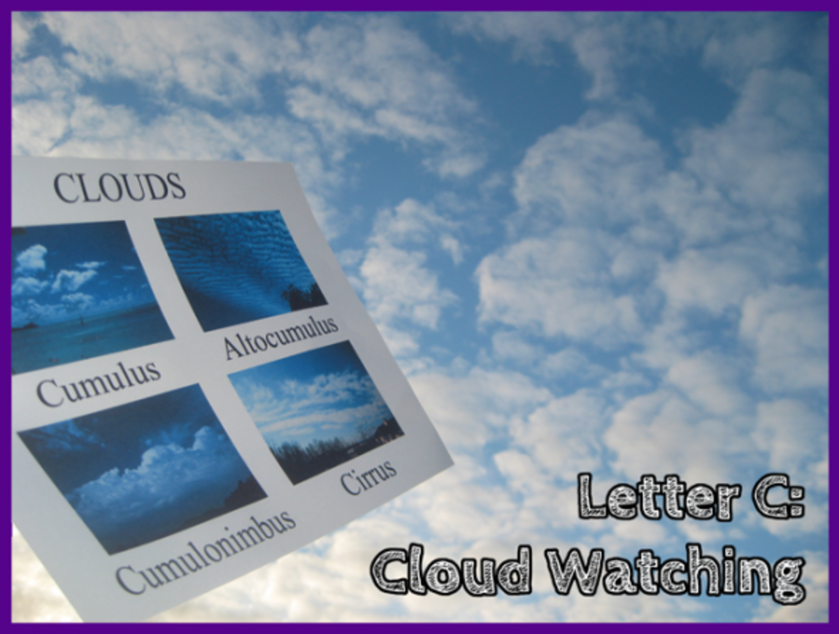 Letter C Cloud Watching