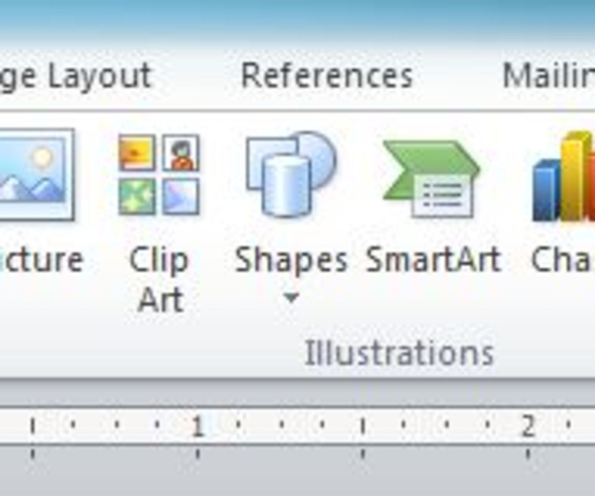 "Using ""Shapes"" in Your Word Document"