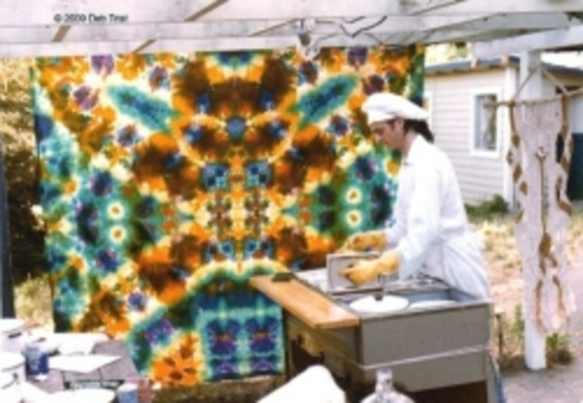 The Best Tie Dye Tapestries Ever!