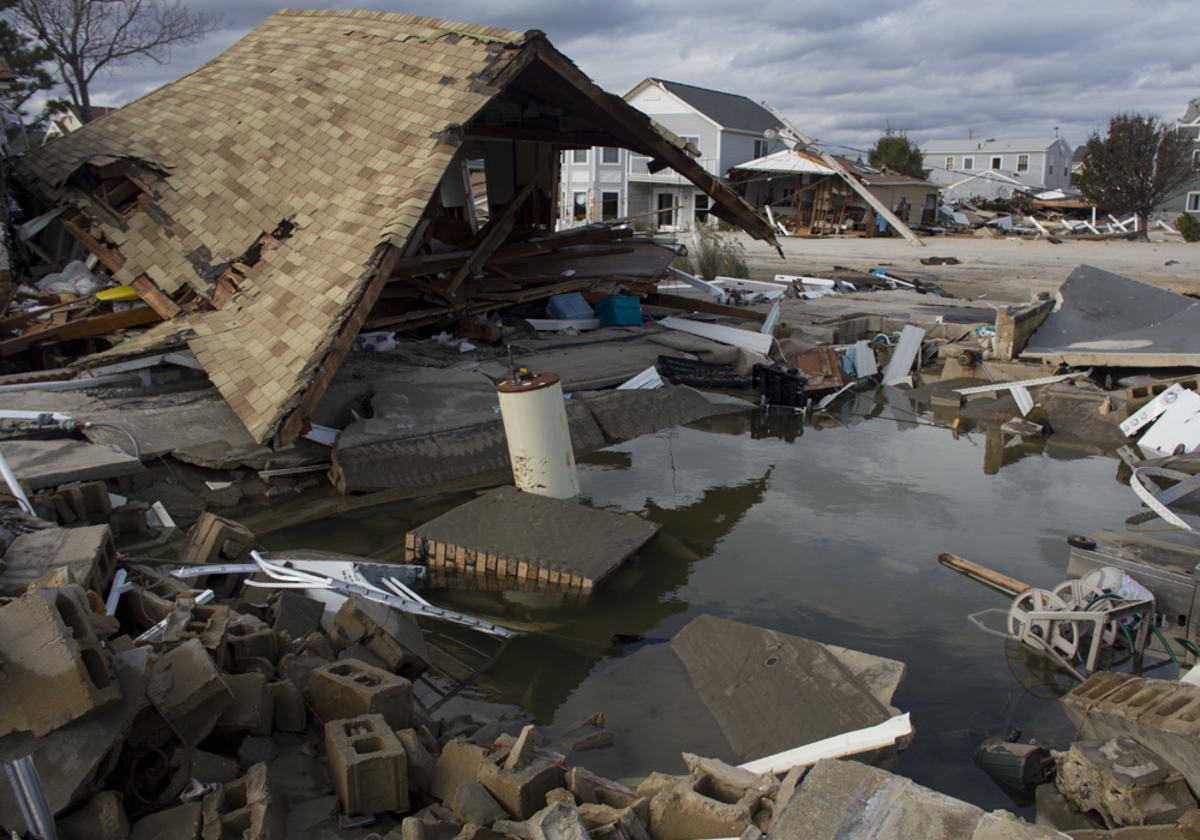Even the toughest homes are no match against Hurricane Sandy.