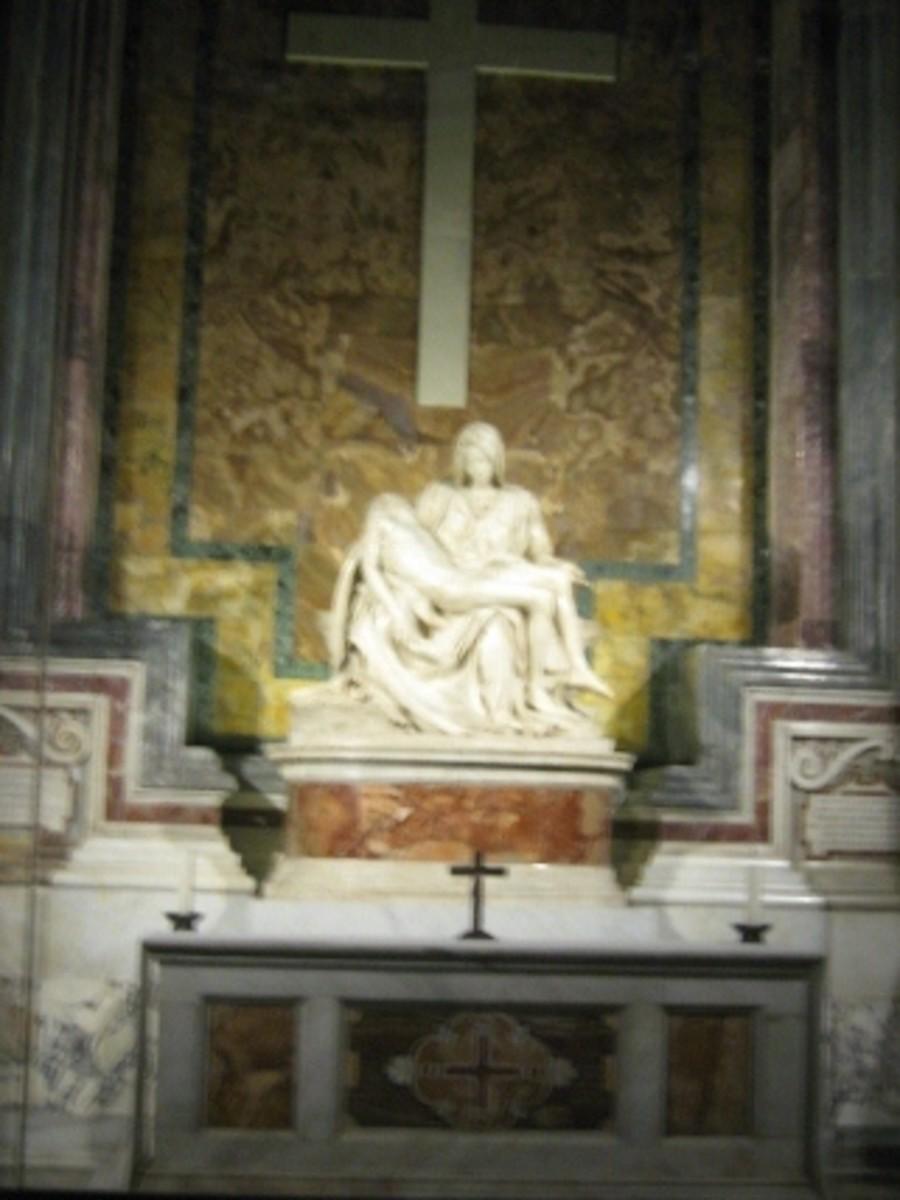 Pieta' del Michelangelo