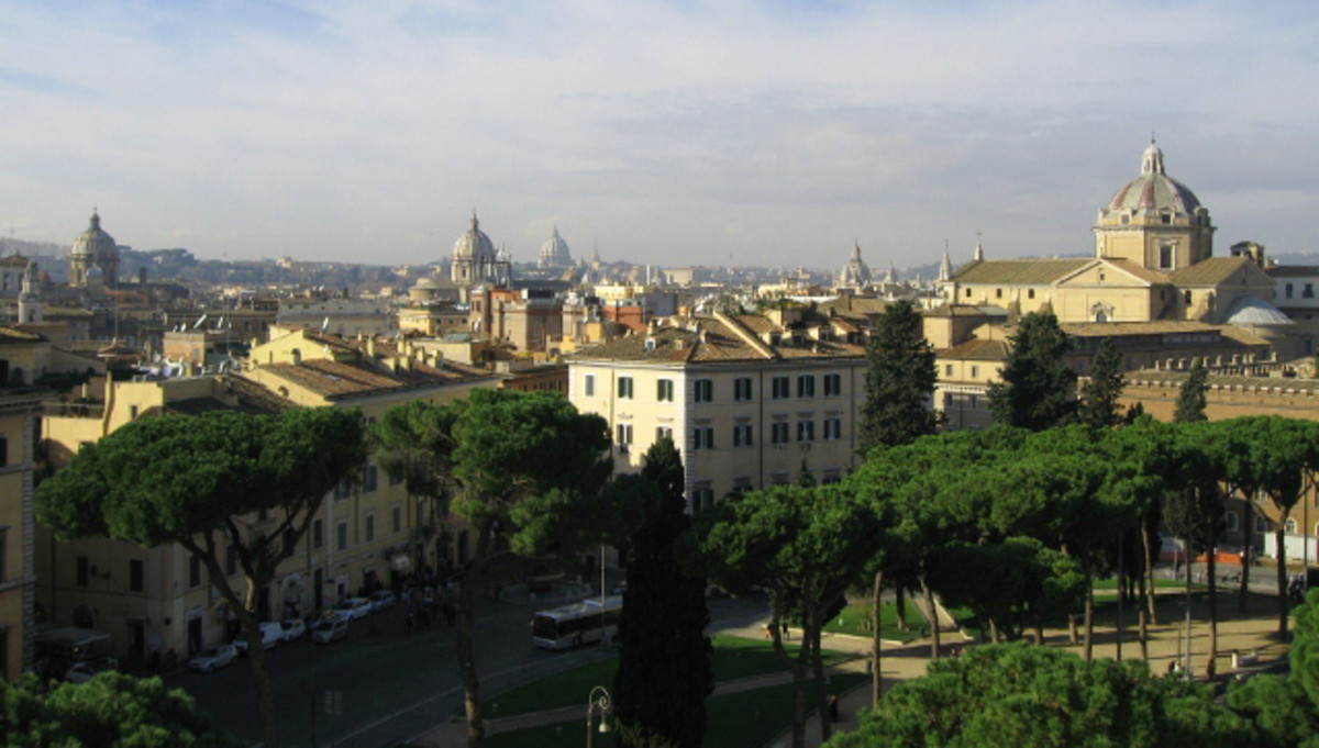 Rome, panoramic view