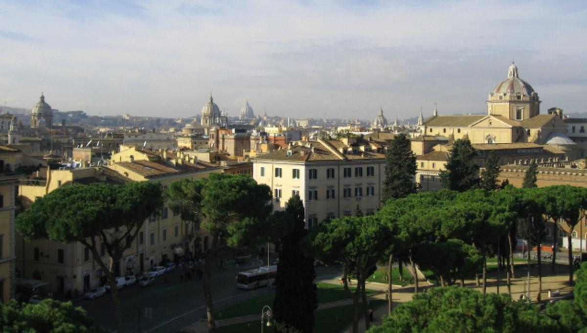 Rome, panoramic view