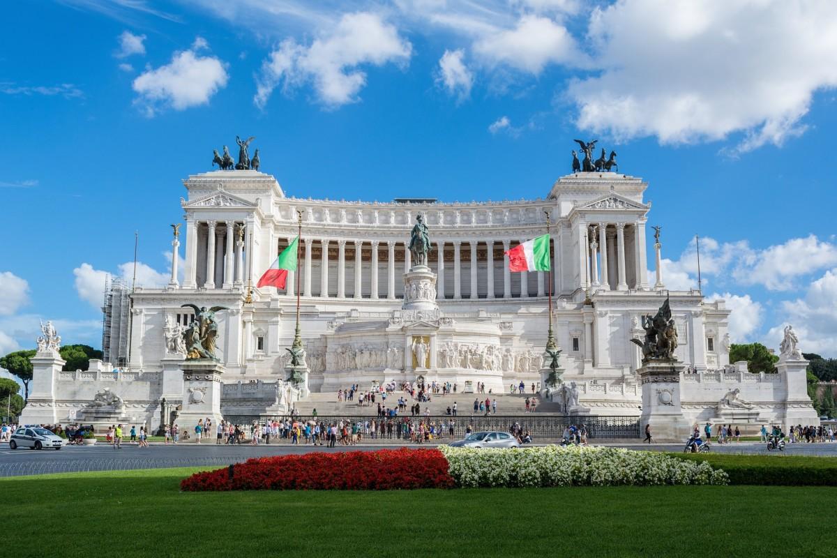 Altare della Patria, the Altar of Fatherland, Rome, Italy