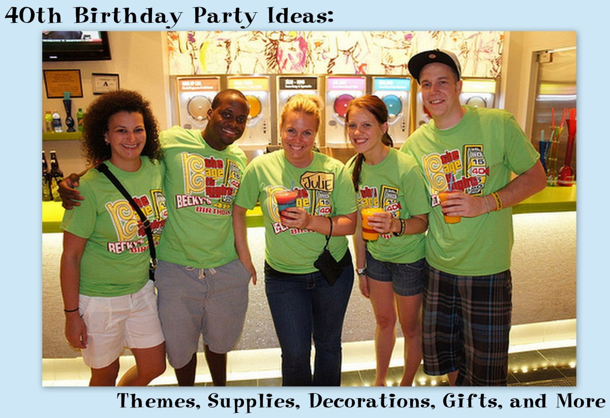 40th Birthday Party Ideas: Themes, Supplies, Decorations, Gifts, and More