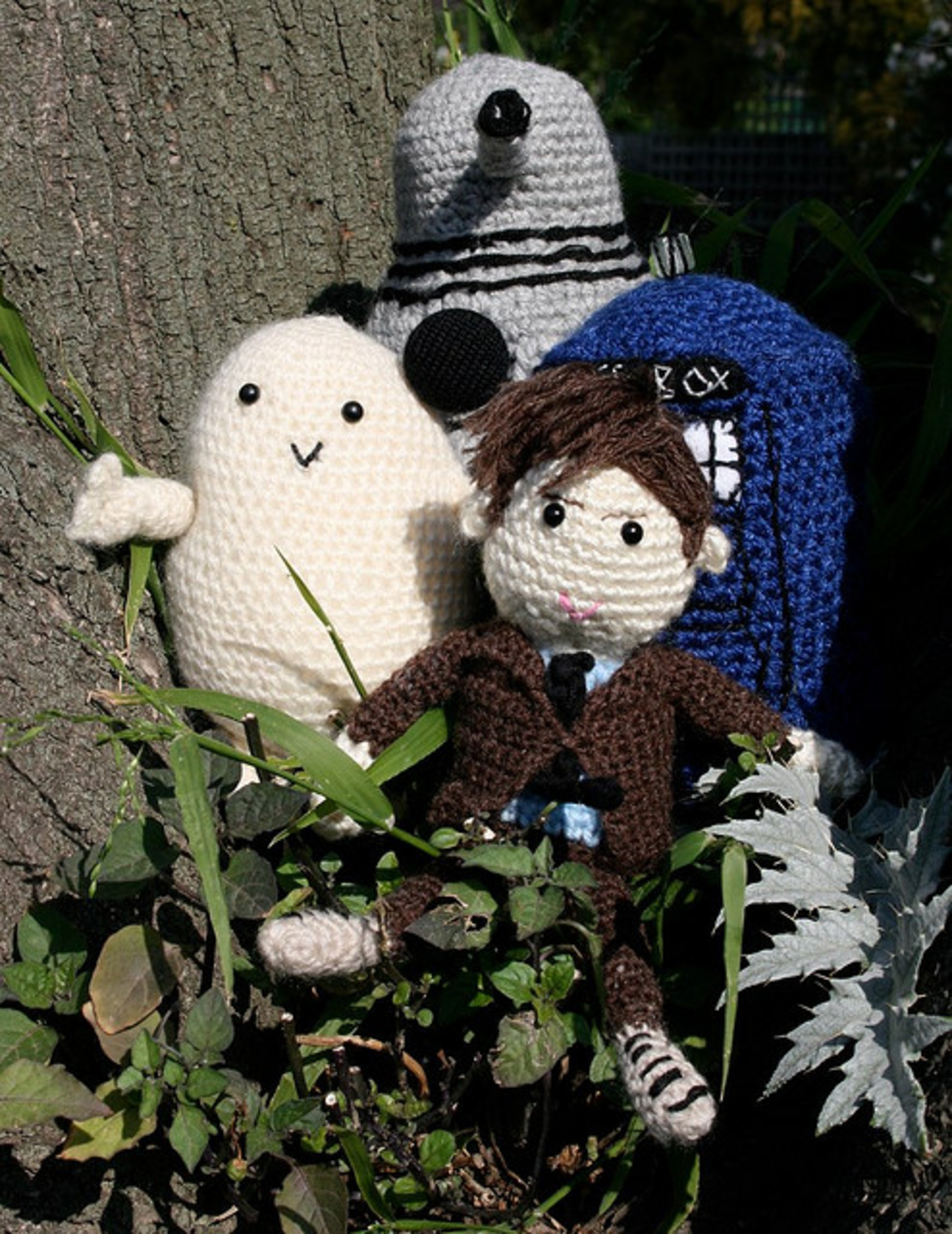 Guess who! Celebrate your favourite TV show or movie by making awesome themed softies like these.