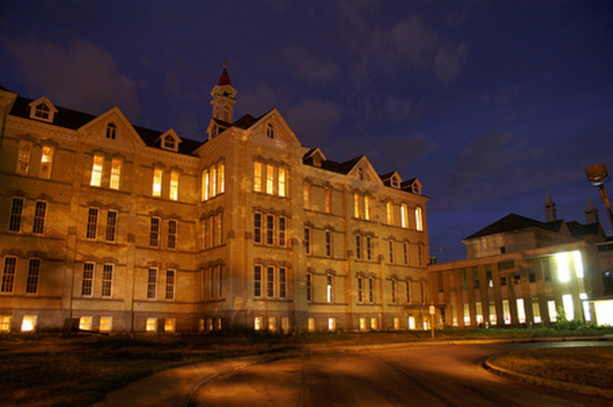 Haunted Places: Traverse City State Hospital