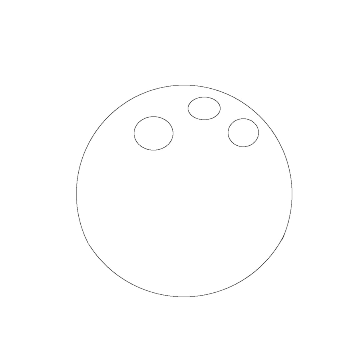 How to draw an angry bird with the eyes added to the body.