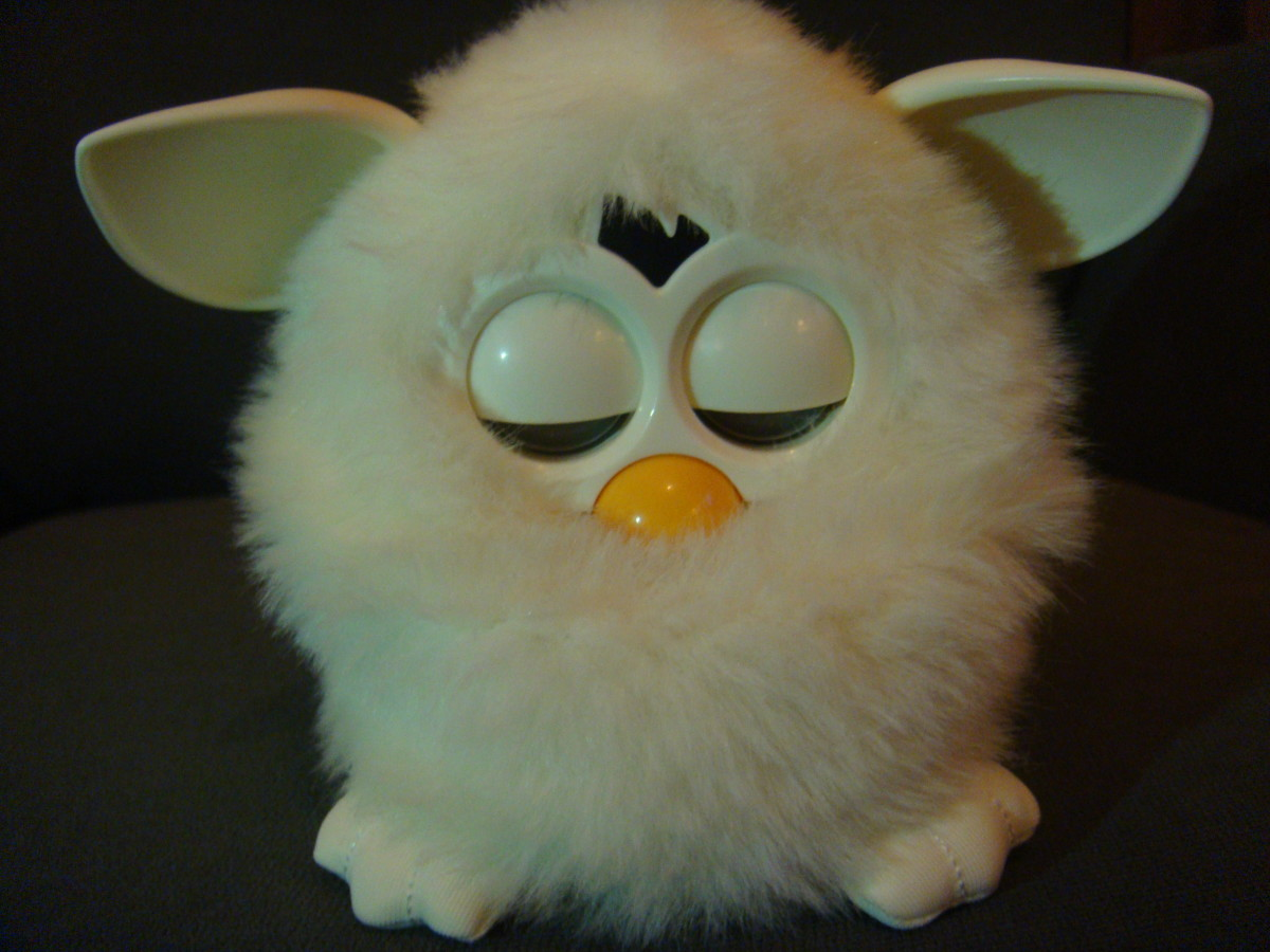 Sleeping Furby