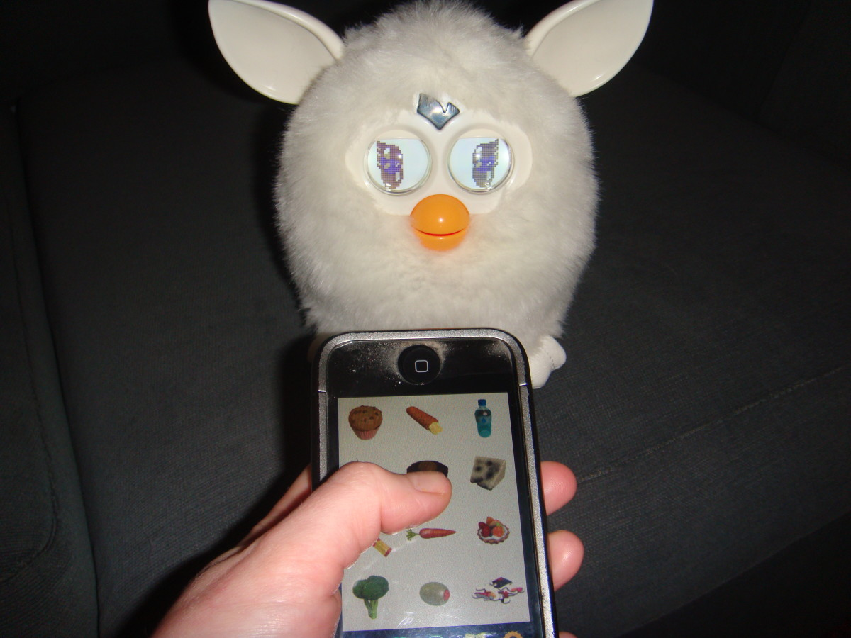 Feed Furby with your iPhone