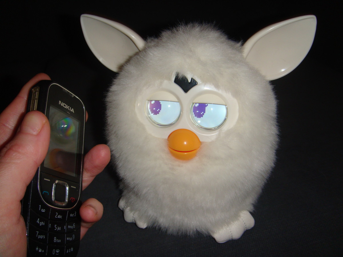 Play music to Furby