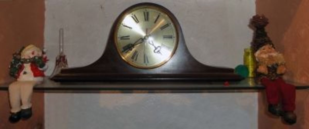 Clock centre piece to display