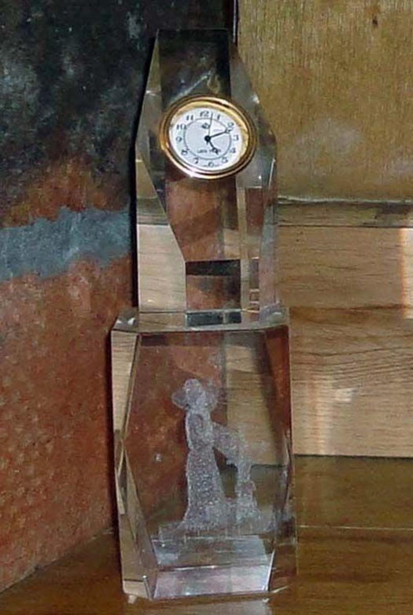Small watch clock