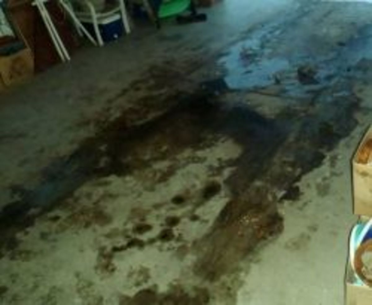 The Low Cost Secret to Cleaning Your Concrete Garage Floor