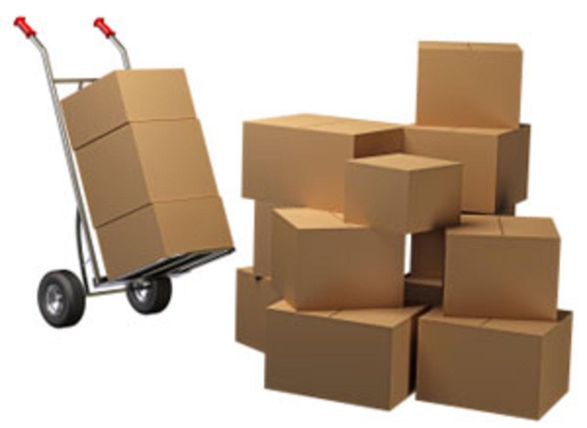 Parcels and more parcels.