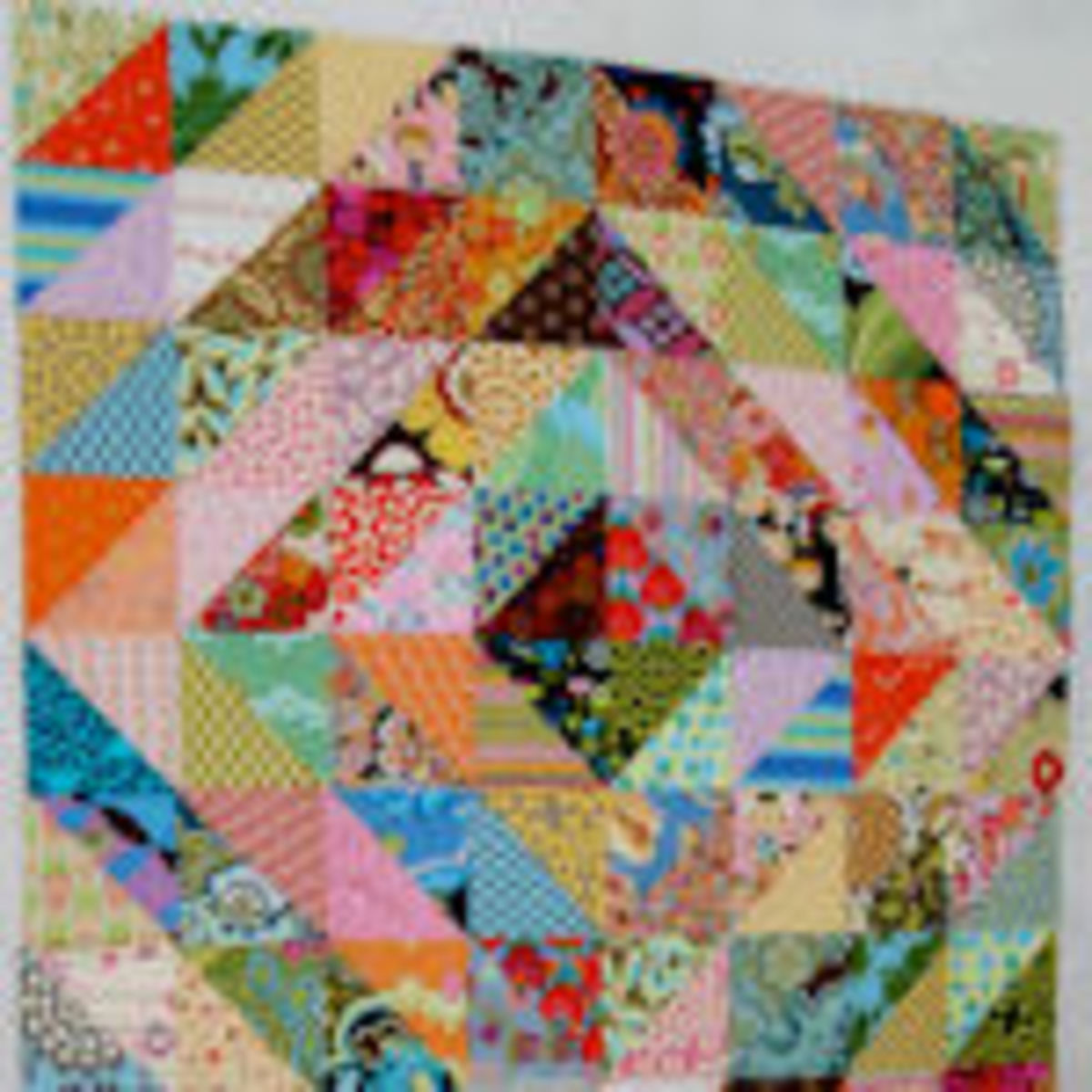 Fat Quarter Quilt Using Free Easy Patterns Hubpages