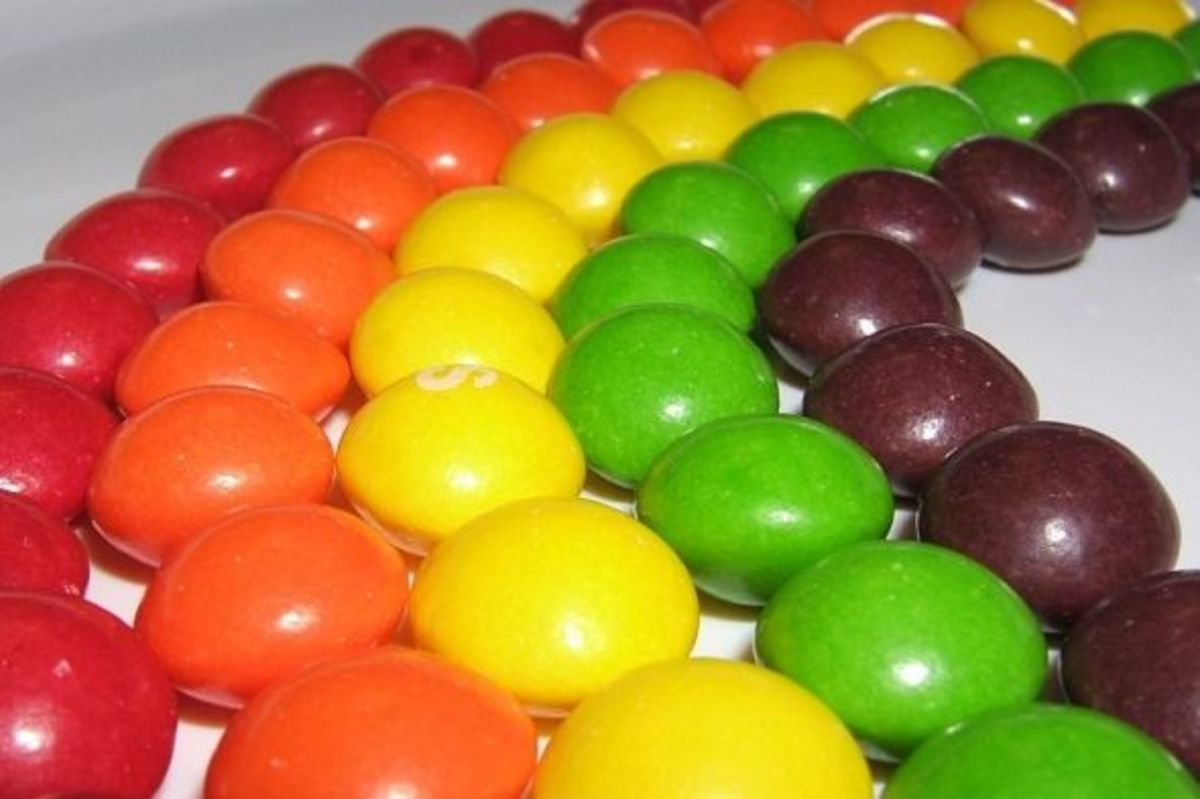 Rainbow Candies