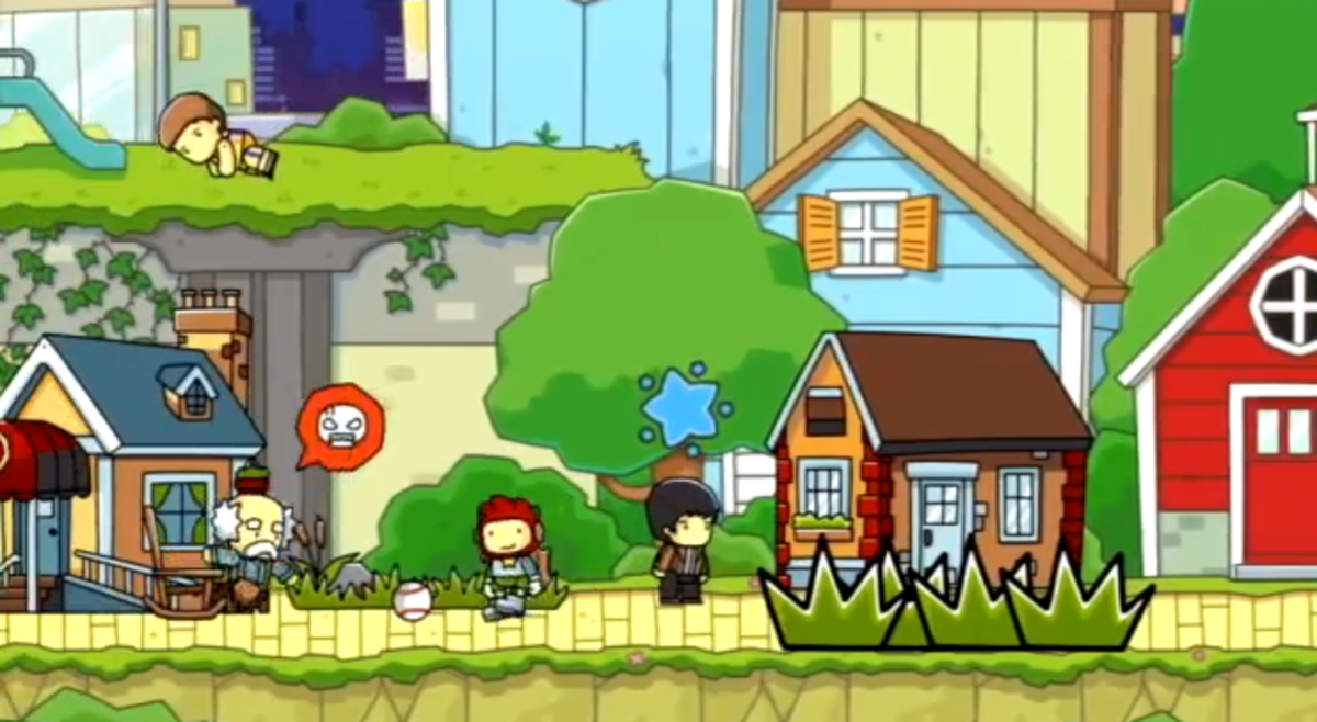 Scribblenauts Unlimited walkthrough: Hyphen Heights and Full Stop Diner