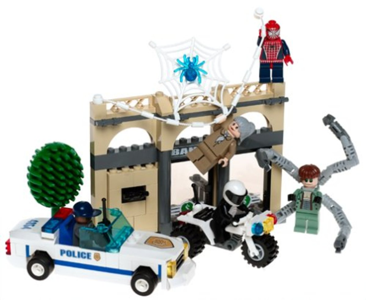 LEGO Spider-Man Doc Ock's Bank Robbery 4854 Assembled