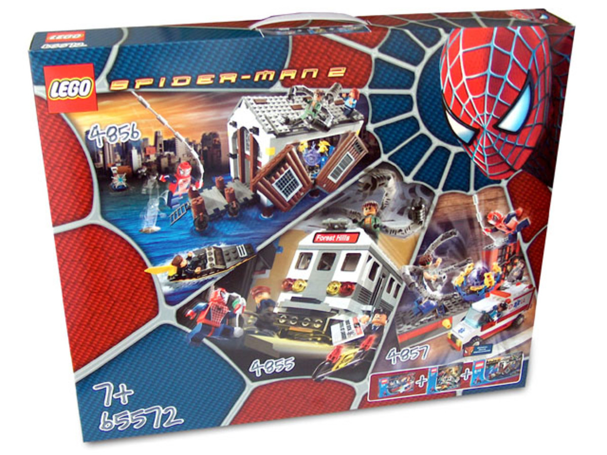 LEGO Spider-Man Combined Set 65572 Box