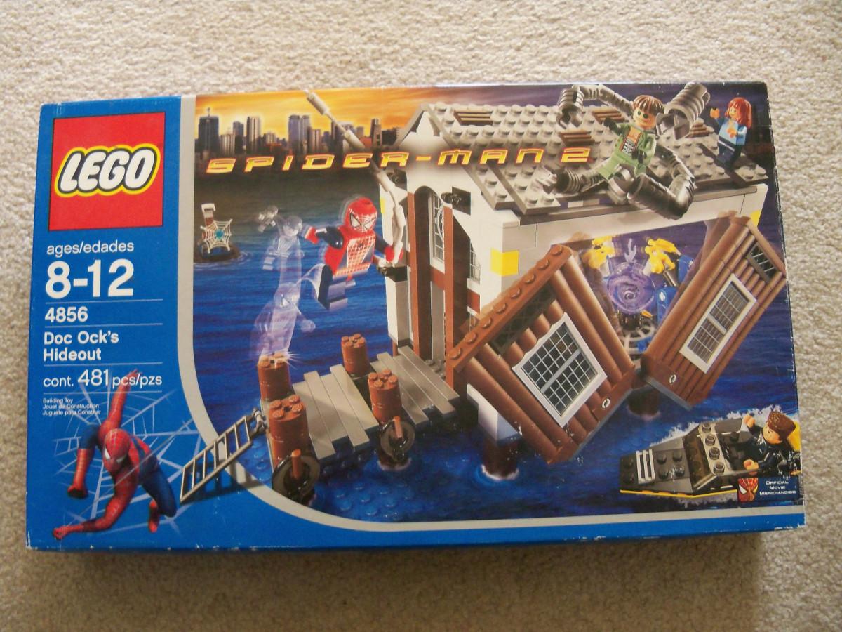 LEGO Spider-Man Doc Ock's Hideout 4856 Box
