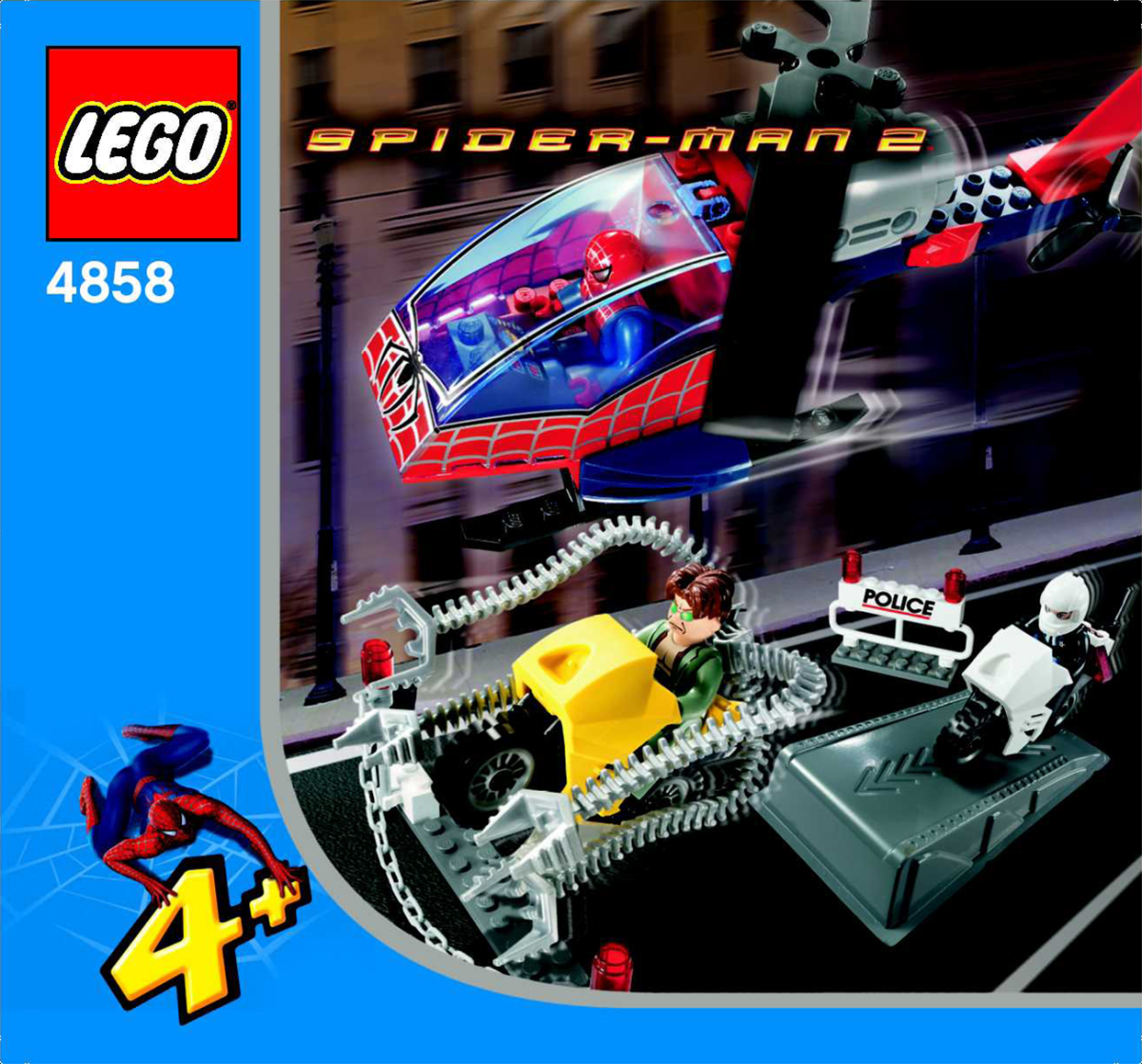 LEGO Spider-Man Doc Ock's Crime Spree 4858 Box