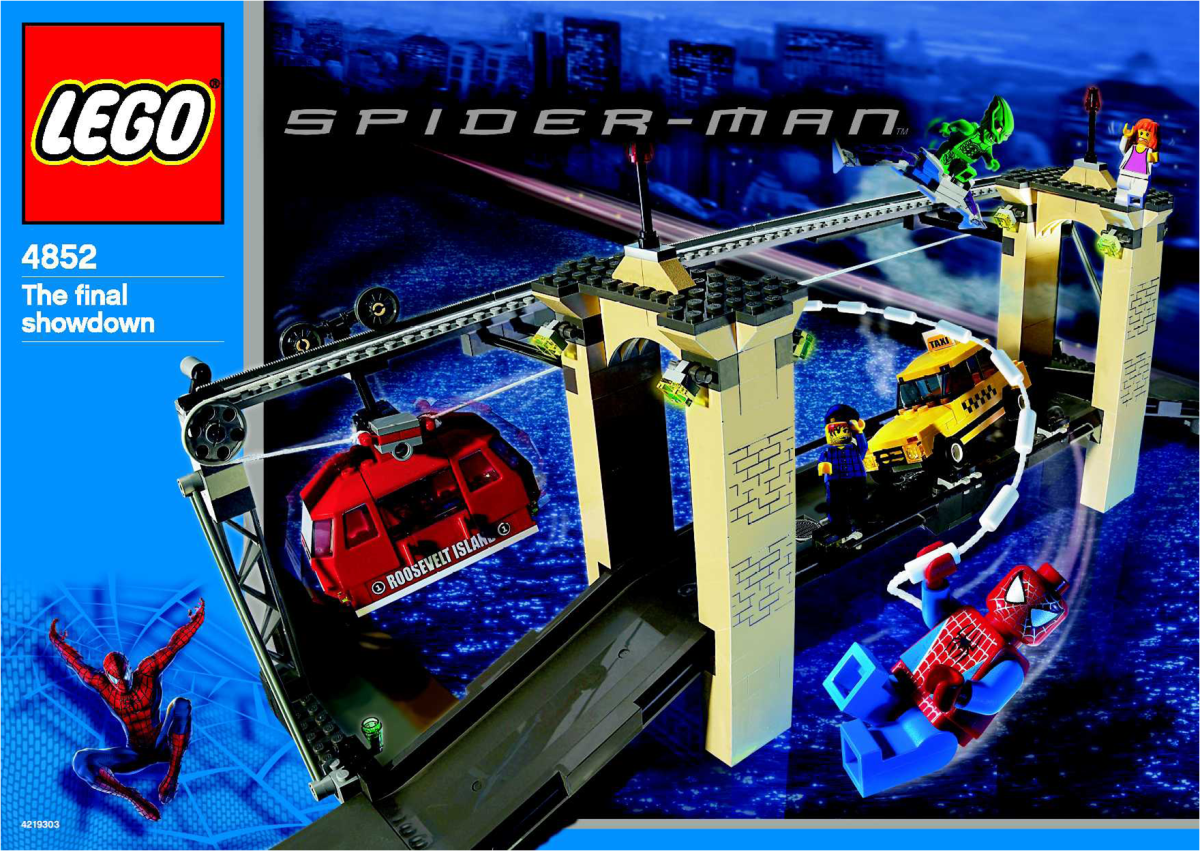 LEGO Spider-Man vs. Green Goblin: The Final Showdown 4852 Box
