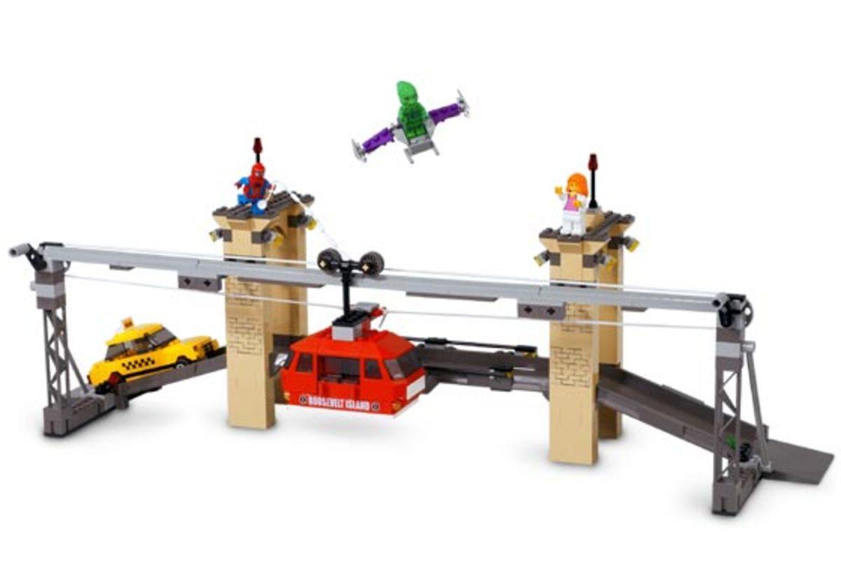 LEGO Spider-Man vs. Green Goblin: The Final Showdown 4852 Assembled