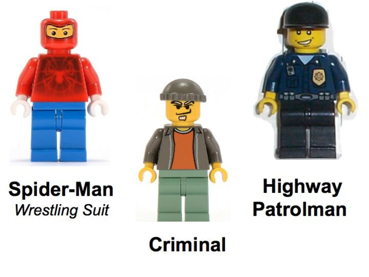 LEGO Spider-Man's First Chase 4850 Minifigures