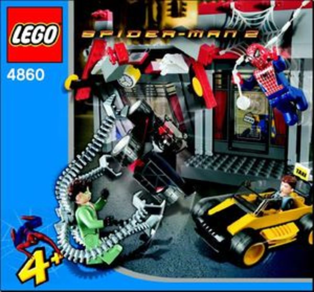LEGO Spider-Man Doc Ock's Cafe Attack 4860 Box