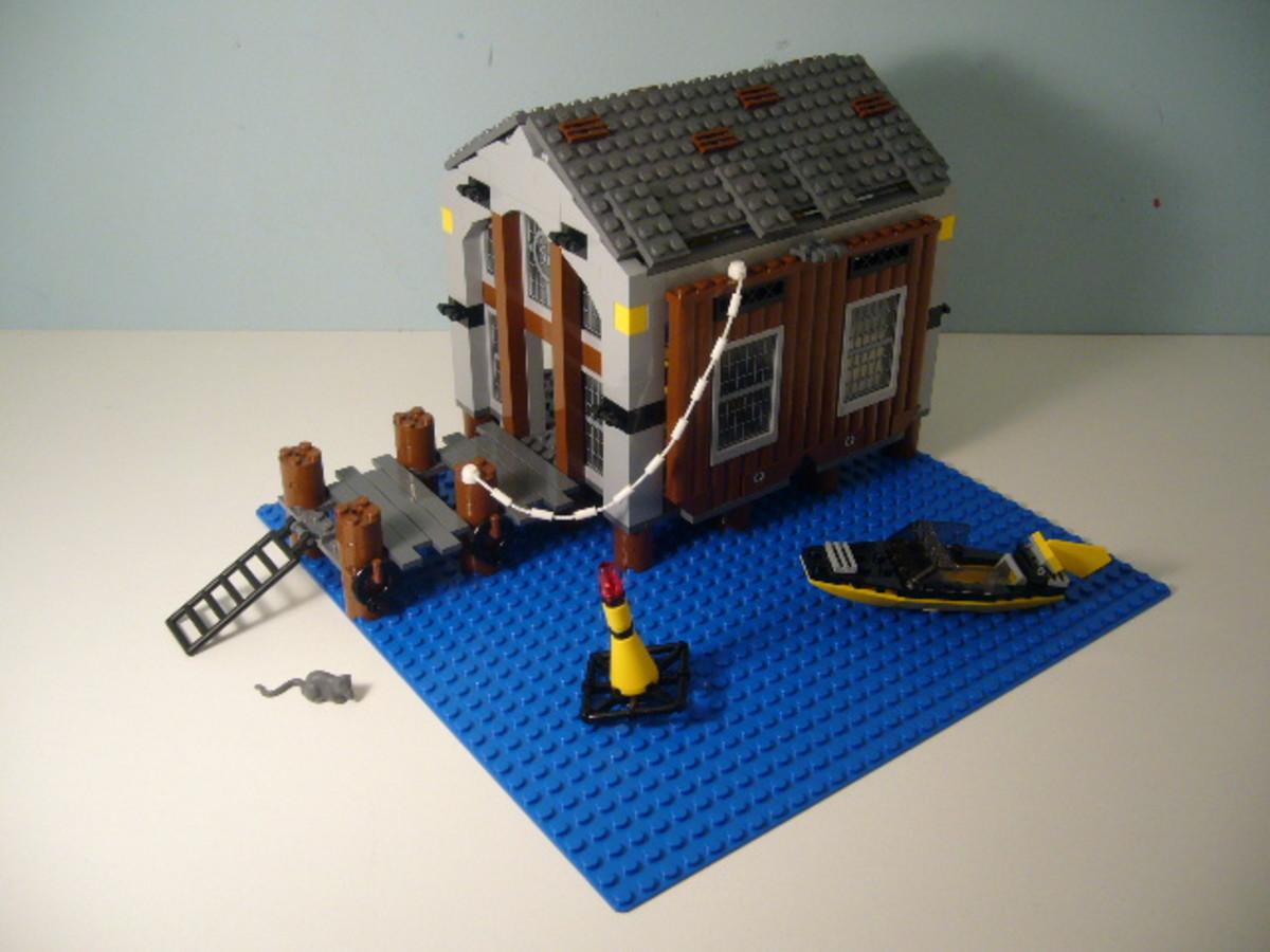 LEGO Spider-Man Doc Ock's Hideout 4856 Assembled
