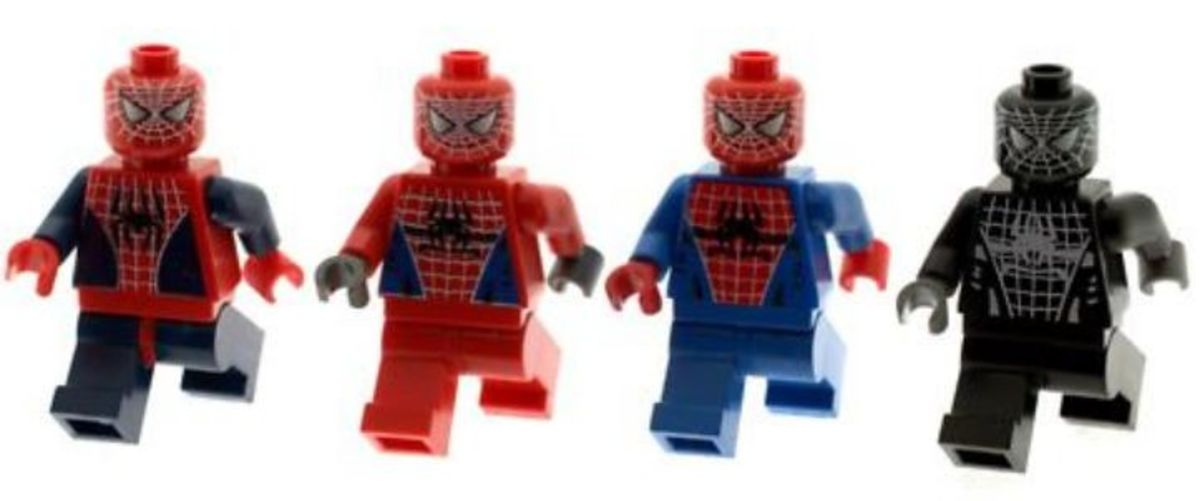 LEGO Spider-Man Minifigures