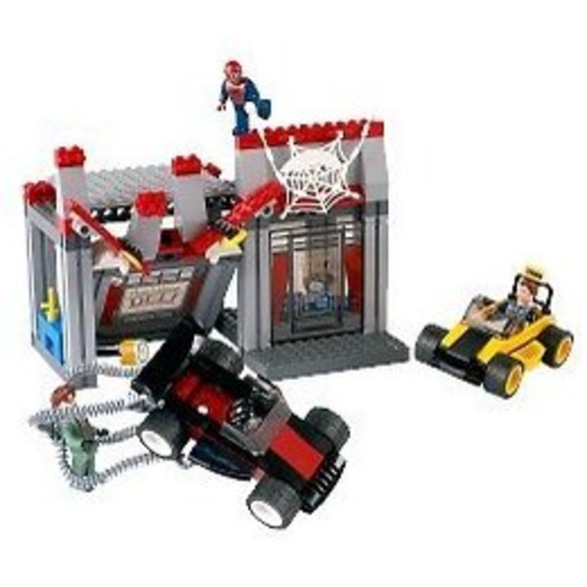 LEGO Spider-Man Doc Ock's Cafe Attack 4860 Assembled