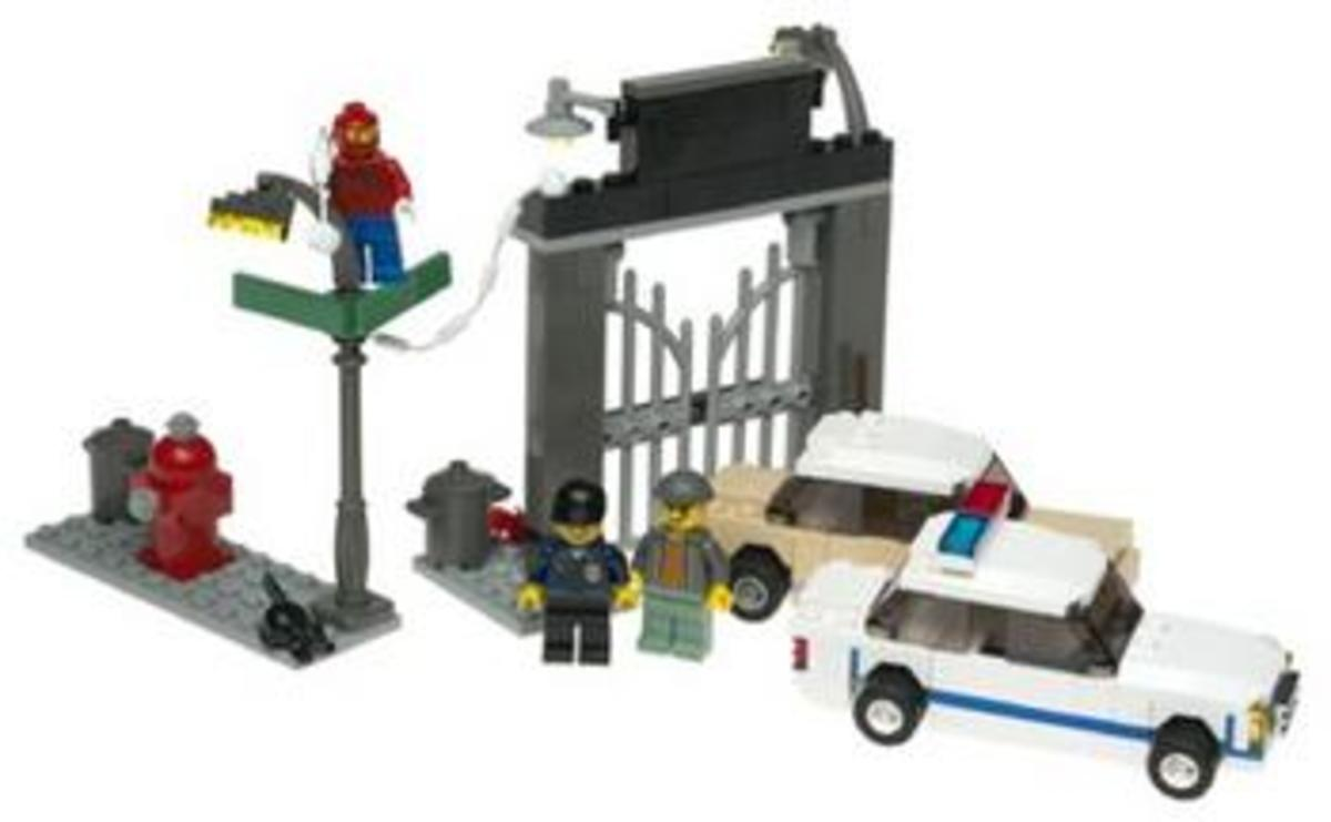 LEGO Spider-Man's First Chase 4850 Assembled