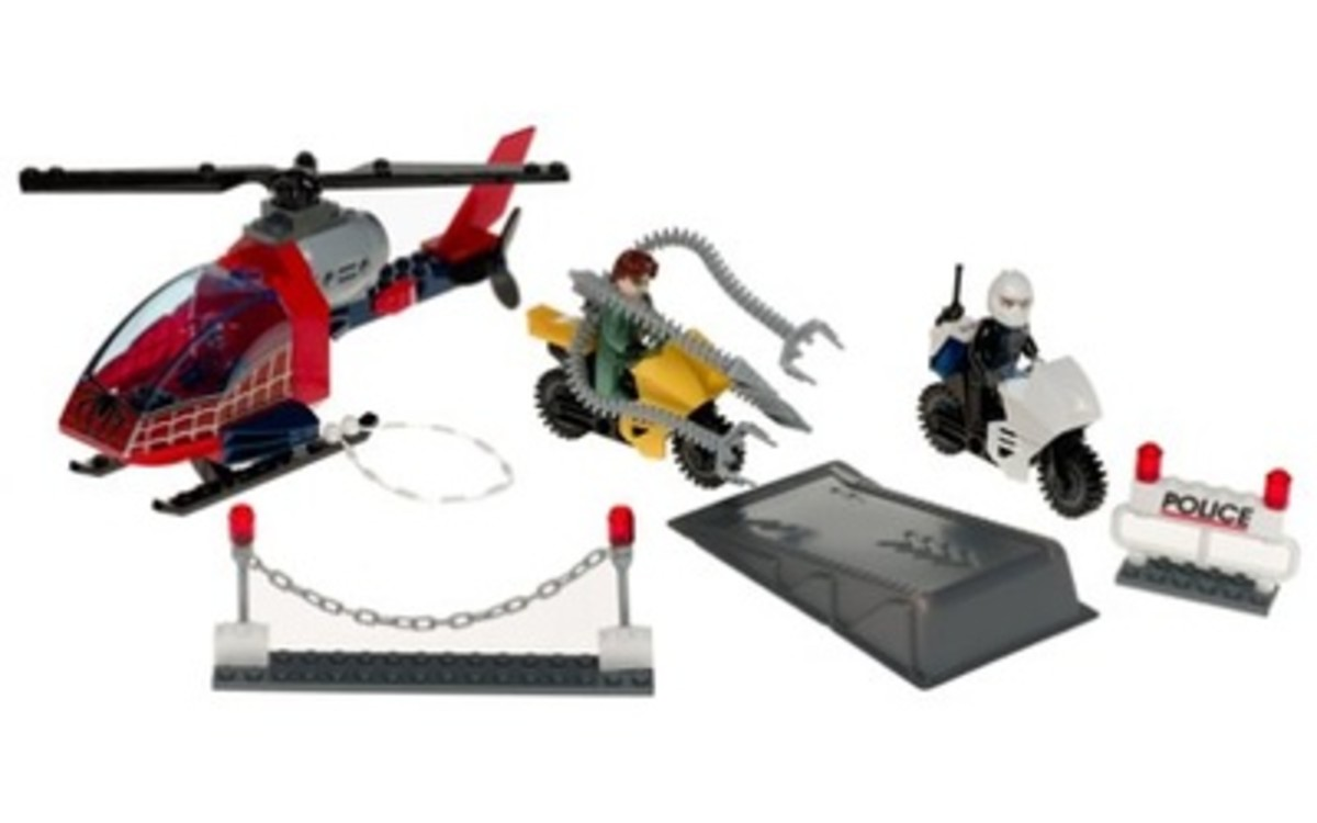 LEGO Spider-Man Doc Ock's Crime Spree 4858 Assembled