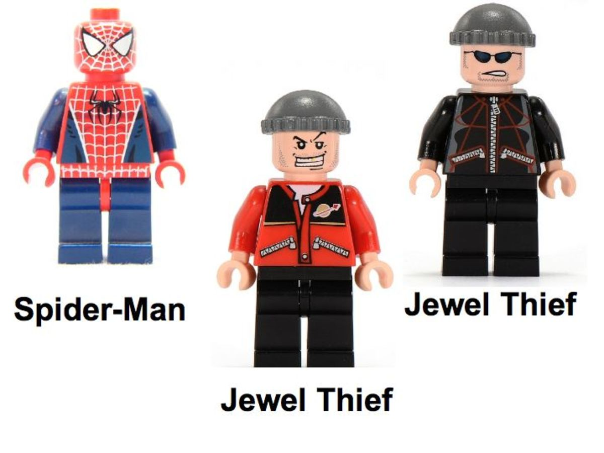 LEGO Spider-Man's Street Chase 4853 Minifigures