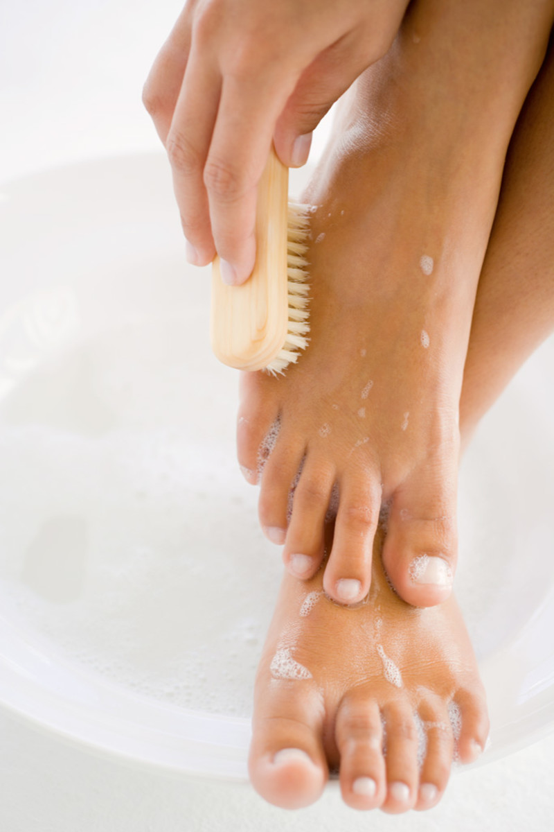 Pedicure how to for both men and women- easy to follow steps as good as any salon.