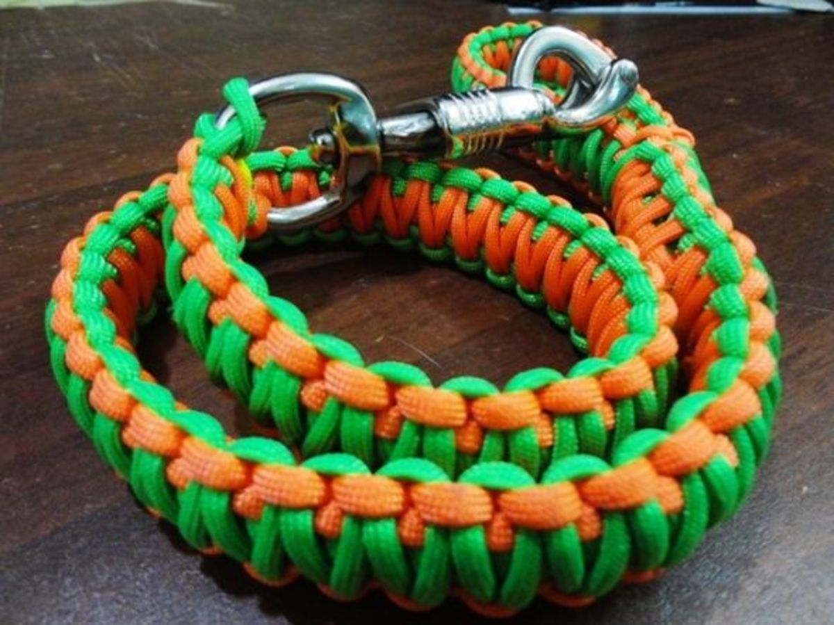 paracord dog leash instructions hubpages