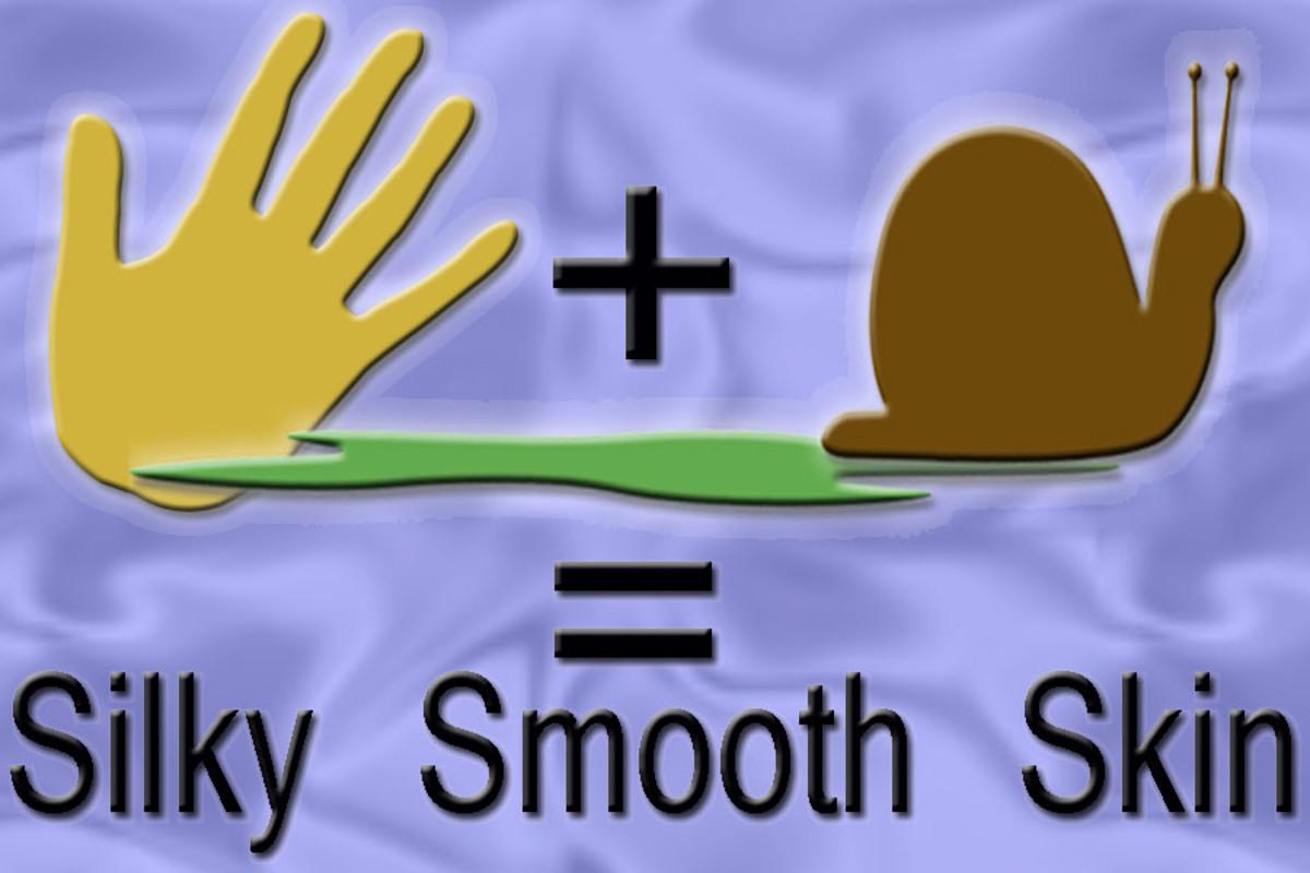 Snail slime is a great moisturizer!