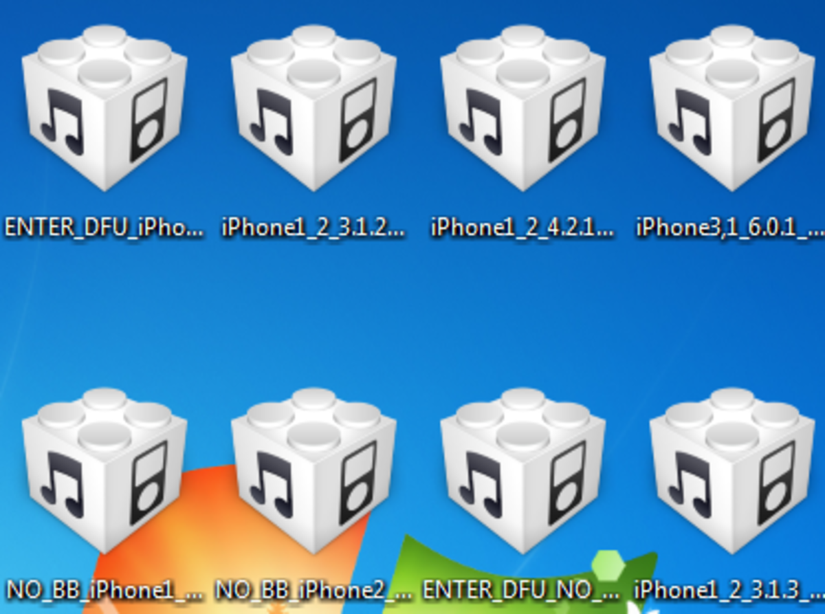 Sample iPhone firmware for iPhone 4