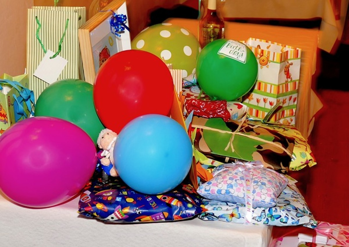 Birthday balloons are a staple gift for making any woman, regardless of age, feel special.