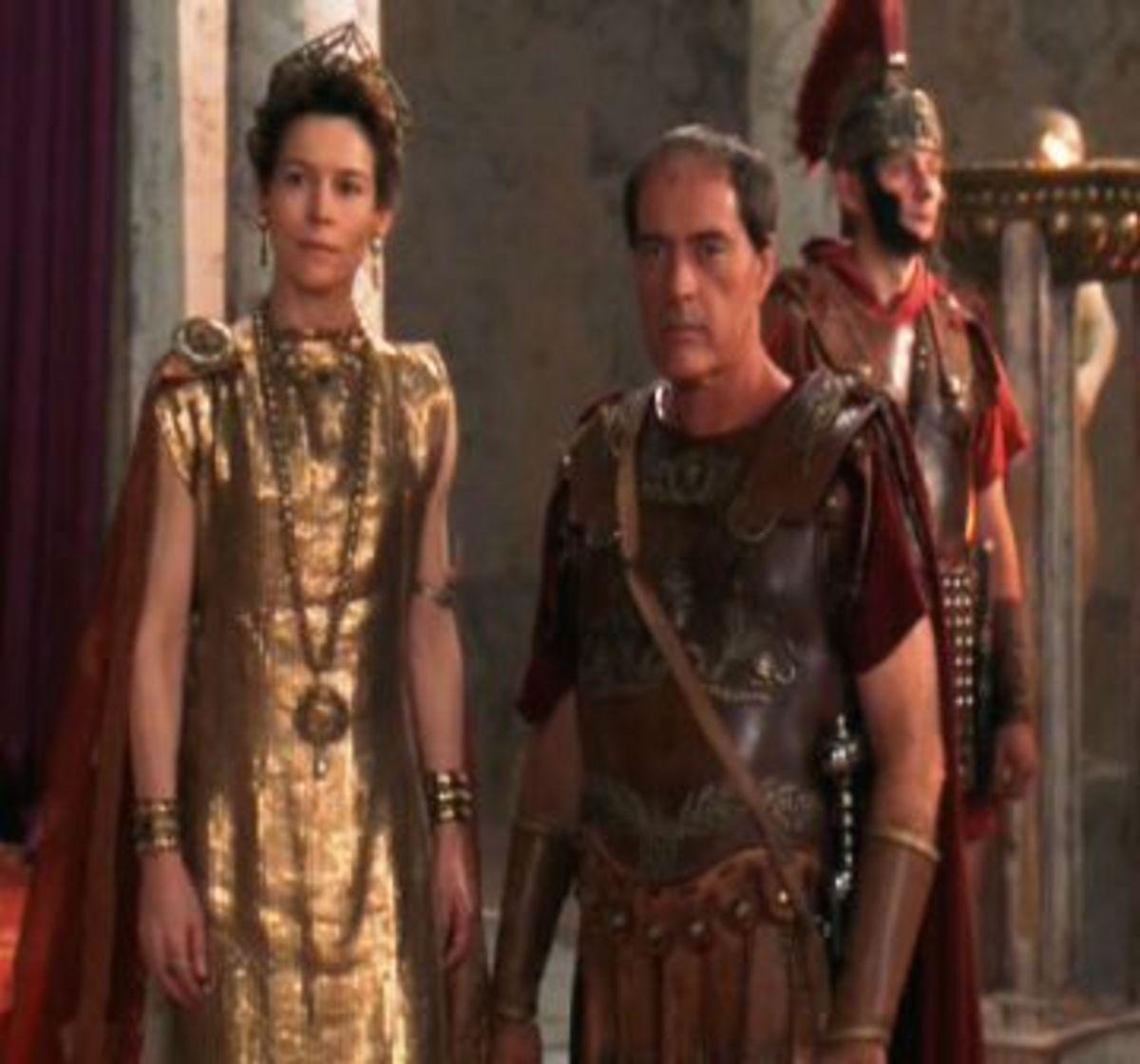 Empress Placidia (left).