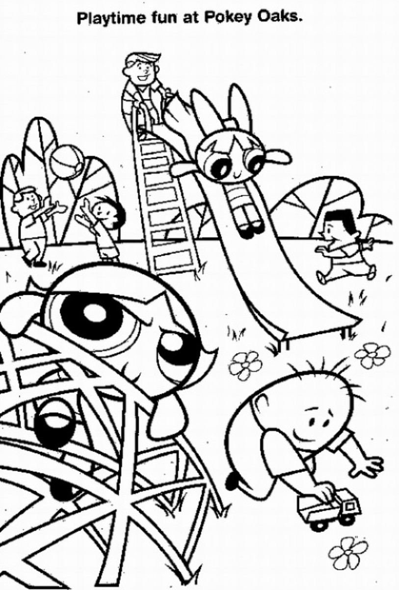 picnic scene coloring page - free coloring pages of playground park