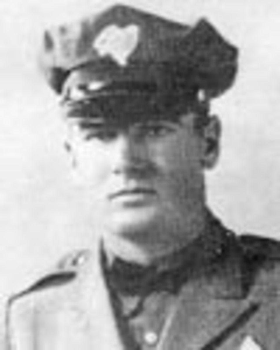 Patrolman Edward bryan Wheeler