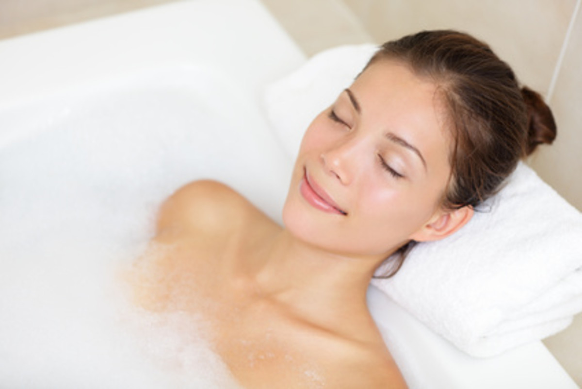 Relax in the perfect mineral bath